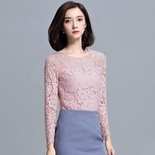 Sentubila - Lace Long-Sleeve Top