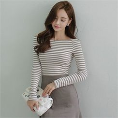 Babi n Pumkin - Off-Shoulder Long-Sleeve Top