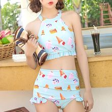 Sweet Splash - Printed 2-piece Swimdress