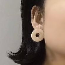 Nocturne - Wooden Single Earring