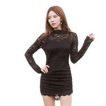 clubber - Lace Bodycon Dress