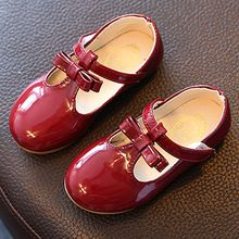 Luco - Kids Faux Patent Leather Flats