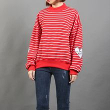 Momewear - Striped Applique Pullover