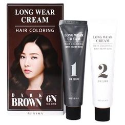 Missha 谜尚 - Long Wear Cream Hair Coloring (#6N Dark Brown)