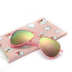 ROUPAI - Kids Aviator Sunglasses