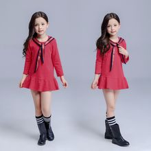 Kidora - Kids Long-Sleeve Ruffle Dress