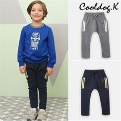 WALTON kids - Boys Contrast-Trim Sweatpants