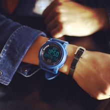 MRCYC - Digital Silicon Strap Watch