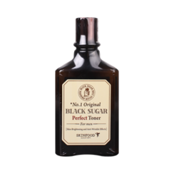 思亲肤 - Black Sugar Perfect Toner For Men (Brightening and Anti Wrinkle Effects) 180ml