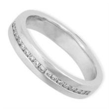 Keleo - Tailor-made 18K White Gold Ring with Diamonds