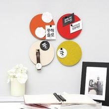 Full House - Thehaki - Round Wall Foldable Decoration Stickers / Message Boards