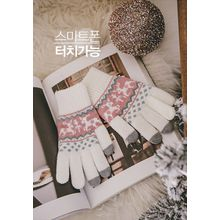 GOROKE - Patterned Knit Gloves