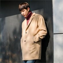 STYLEMAN - Colored Single-Breasted Coat