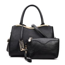 Pandabada - Faux-Leather Satchel With Pouch