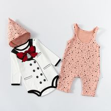 MOM Kiss - Baby Set: Sleeveless One-Piece + Hat