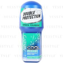 Mandom - Gatsby Cool Shock Deodorant Roll-On (Green Fougere)