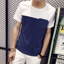 RIVOLO - Colour Block Short-Sleeve T-shirt