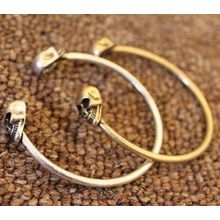 Manti - Skull Open Bangle