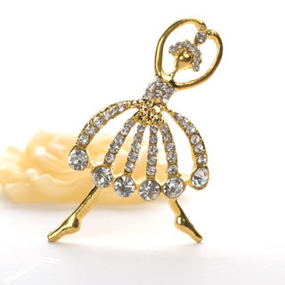 Fit-to-Kill - Ballet Dancer Brooch