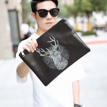 BagBuzz - Deer Print Clutch