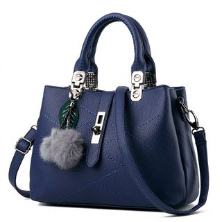 miim - Faux Leather Shoulder Bag
