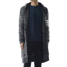 TheLees - Wool Blend Long Knit Cardigan