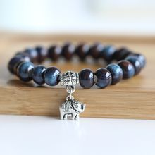 Porcelana - Elephant Charm Beaded Bracelet