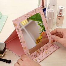 Show Home - Floral Print Foldable Mirror