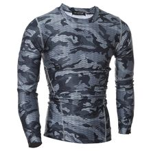 Hansel - Sport Camouflage Quick Dry Long-Sleeve T-Shirt