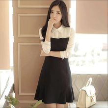 EFO - Long-Sleeve Color-Block Dress