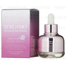 Bergamo - Pure Snail Whitening Ampoule (For All Skin Types)