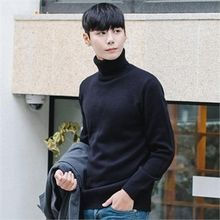 STYLEMAN - Colored Turtle-Neck Sweater