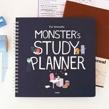 Full House - Indigo - Monster Print Study Planner (Medium)