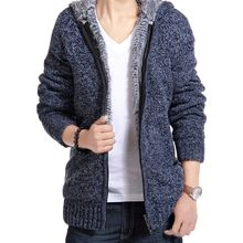 Bay Go Mall - Hooded Furry Zip Sweater