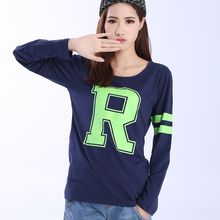 Lina - Print Long Sleeve T-Shirt