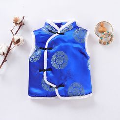 OnCloud - Kids Embroidered Traditional Chinese Vest