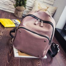 Shinian - Studded Faux Leather Backpack