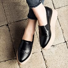 MIAOLV - Platform Pointy Loafers
