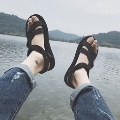 JUN.LEE - Velcro Sandals