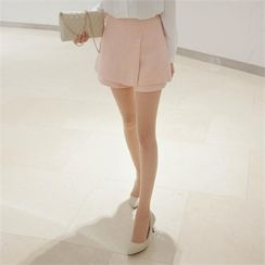 TOM & RABBIT - Buttoned Flap-Front Skort