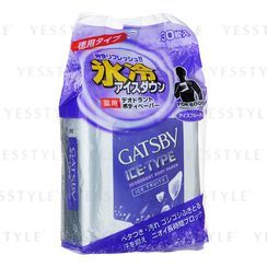 Mandom 漫丹 - Gatsby Ice-Type Deodorant Body Paper (Ice Fruity)
