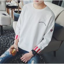 Bestrooy - Heart Embroidered Pullover
