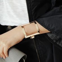 Ticoo - Square Open Bangle