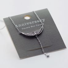 Love Generation - Sterling Silver Wings Necklace