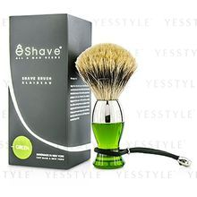 eshave - Short Brushes Nickel Pastic Handle (Green)