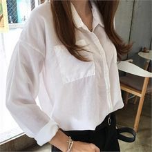 QNIGIRLS - Pocket-Front Shirt
