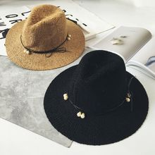 FROME - Pearl Bow Straw Hat
