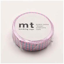 mt - mt Masking Tape : mt 1P Grid Shocking Pink x Shocking Blue
