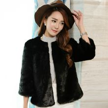 Ryefield - 3/4-Sleeve Furry Jacket