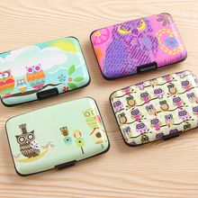 Yulu - Owl Print Card Holder